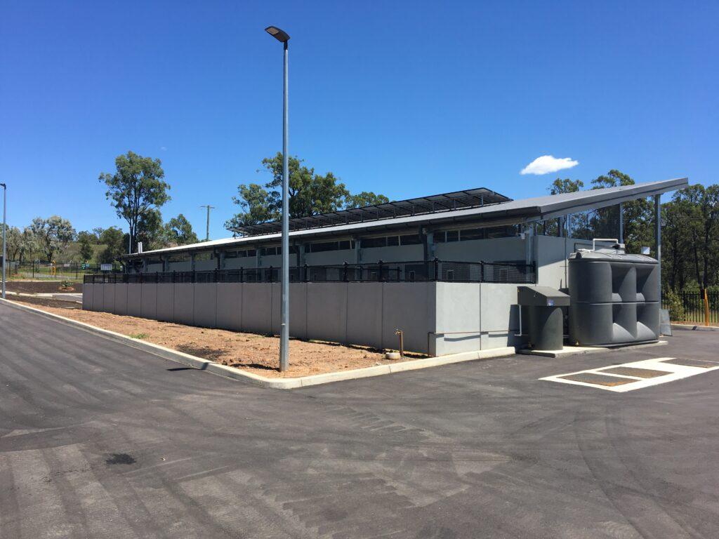 Animal Management Facility Rear